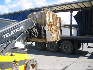 Chargement-camion